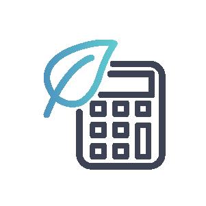 icon carbon calculator