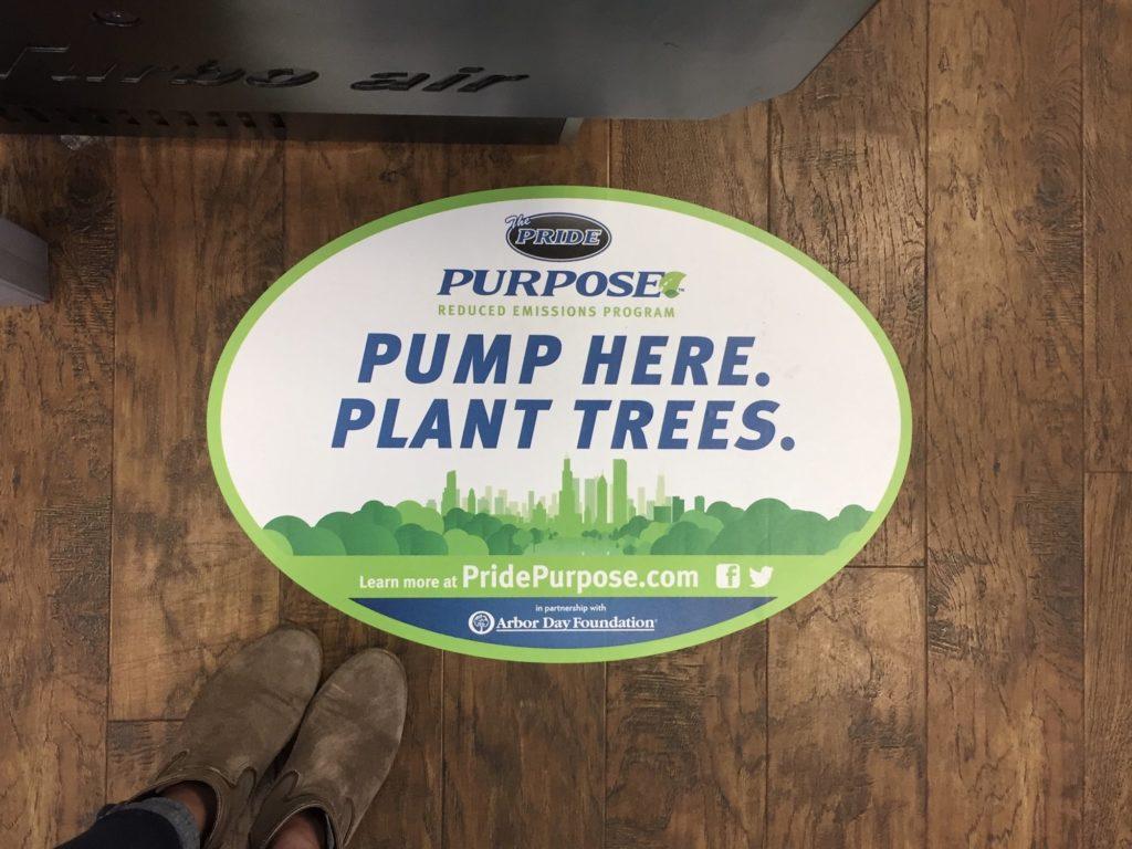 Reduced Emissions Program Sign