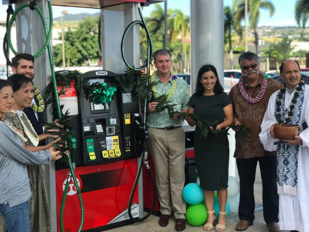 Gas Station Launch in Hawaii