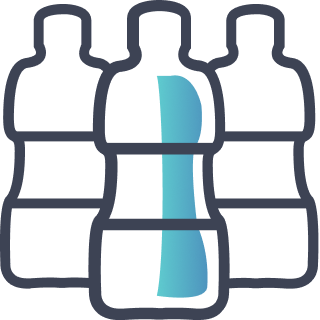 icon-plastic bottles