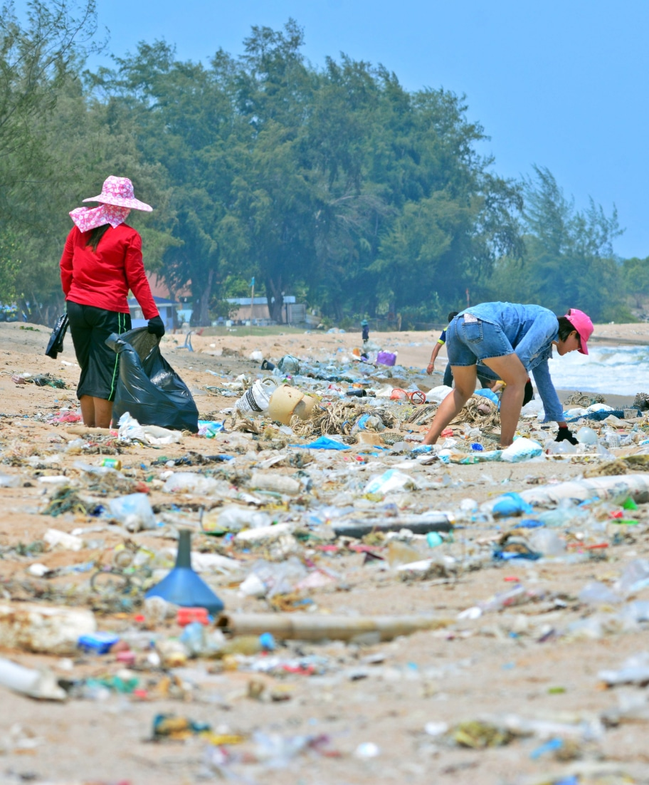 plastic waste collection project in India