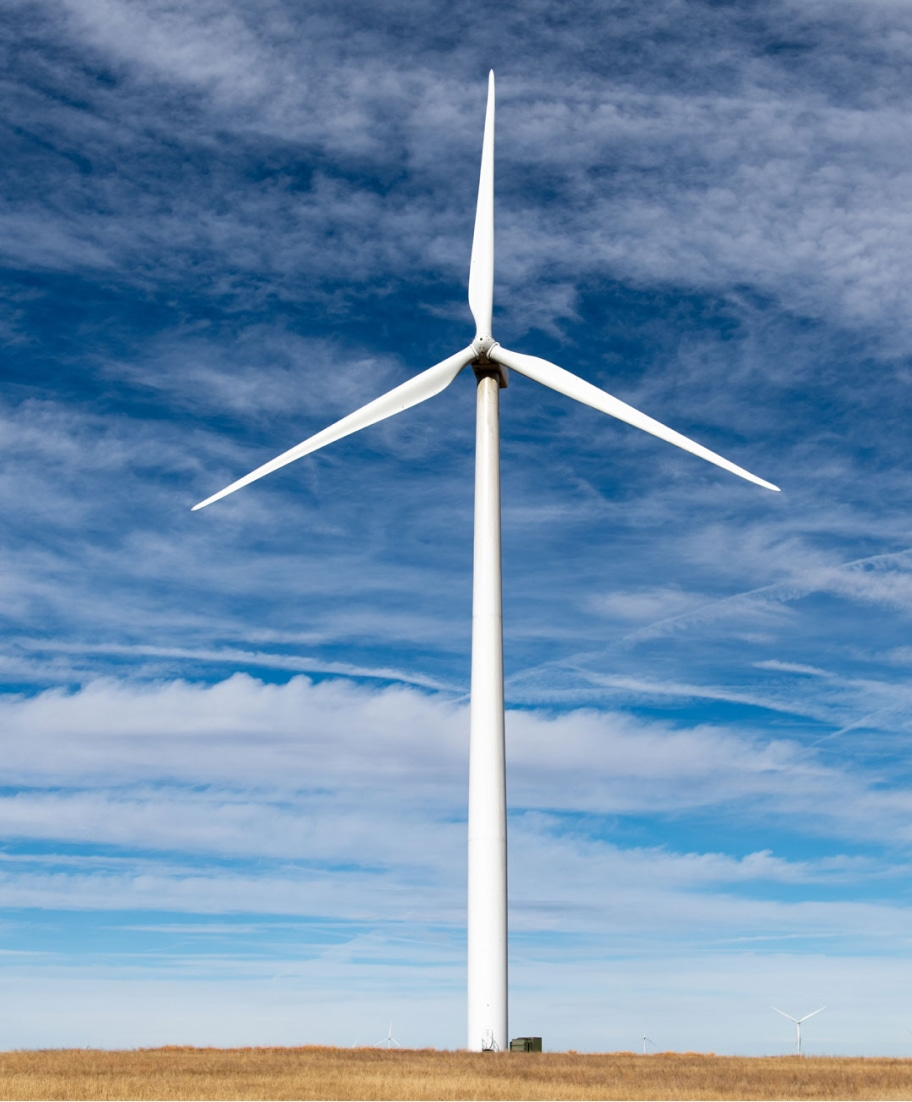 renewable wind energy project in Colorado